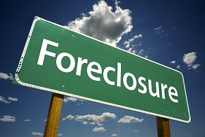 Foreclosure Road Sign