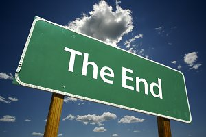 The End Road Sign