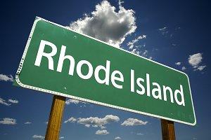 Rhode Island Road Sign