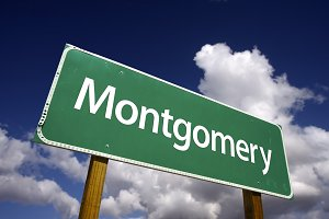 Montgomery Green Road Sign