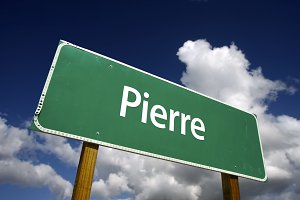 Pierre Green Road Sign
