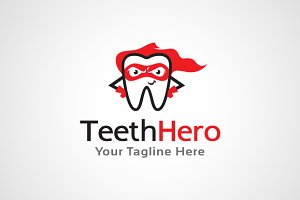 Teeth Hero - Dental Logo Template