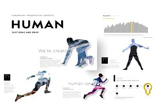 HUMAN PowerPoint Template R2