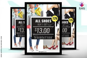 Shoes Sales Flyer PSD