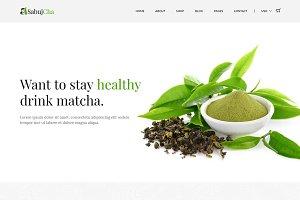 Sabujcha - Matcha eCommerce Template
