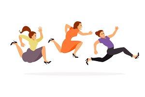 Women running on sale
