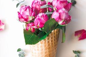 Still life of a bouquet