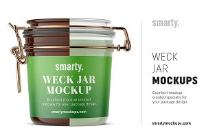 Weck Jars Mockup