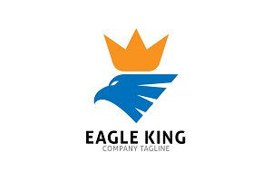 Eagle King Logo Template