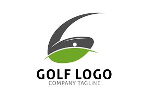 Golf G Letter Logo Template