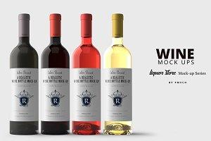 Wine Mockup Kit