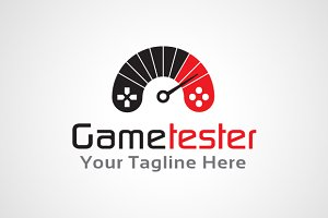 Game Tester Logo Template