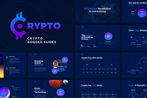 CRYPTO Google Slides Template