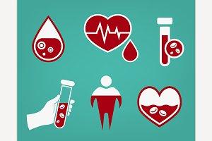 Anemia and Hemophilia icon