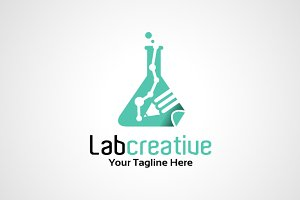 Lab Creative Logo Template