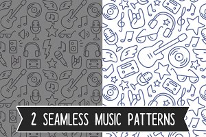 Seamless music patterns