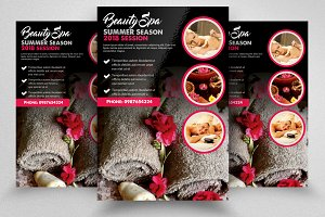 Beauty Spa Treatment Flyer