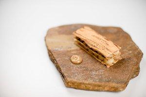 Close-up of a food gourmet molecular