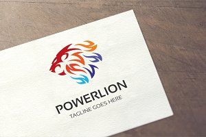 Power Lion Logo
