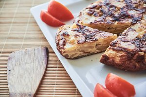 Traditional Spanish omelette