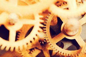 Gear, cog wheels background