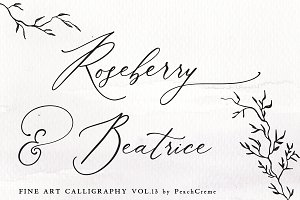 Roseberry & Beatrice Vol.13 SALE!