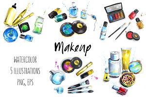 Makeup & Cosmetics illustrations