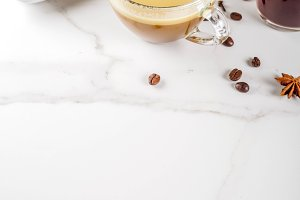 Bulletproof coffee with butter