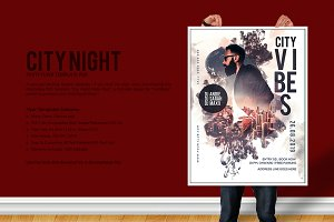 City Nights Party Flyer