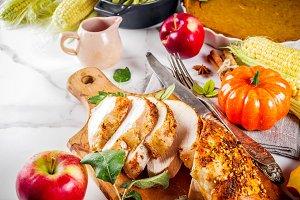 Thanksgiving holiday food