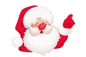 Santa Claus. Christmas cartoon