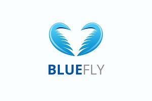 Blue Fly Logo