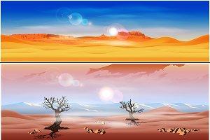 Seamless Desert Landscapes