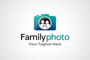 Family Photo Logo