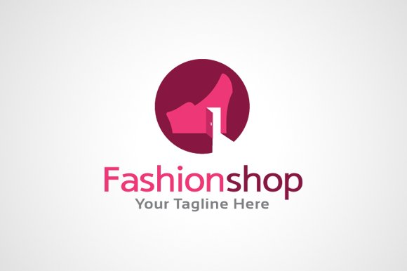 Fashion Shop Logo Template ~ Logo Templates ~ Creative Market