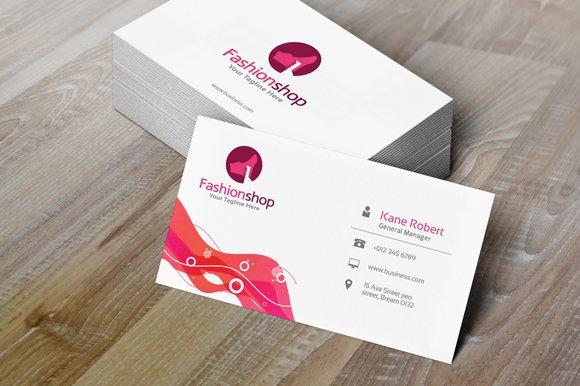 Fashion Shop Logo Template Logo Templates Creative Market