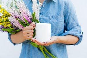Fresh Mug MockUp Stock Image