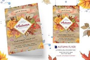 Autumn Festival (Fall)Flyer Template