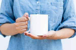 White Mug/Coffee Cup Mockup