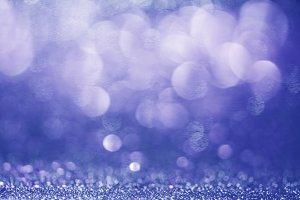 Blue bokeh background. Beautiful