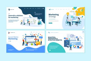 Set of Web Design Templates