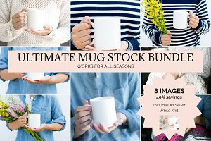 Mug/Coffee Cup Mockup Bundle