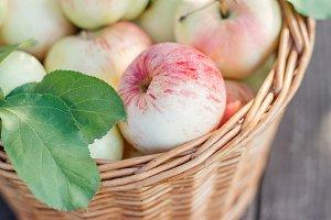 pink apples