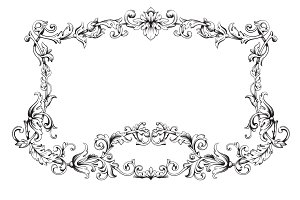 Page decoration Ornate Vintage Frame