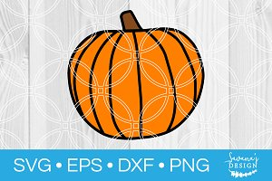 Pumpkin SVG Cut File