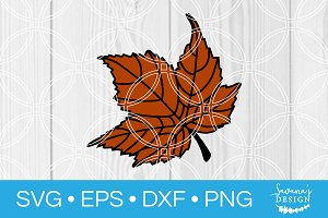 Maple Leaf SVG Cut File