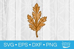 Leaf SVG Cut File