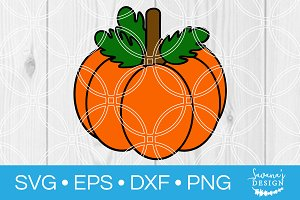 Cute Pumpkin SVG Cut File