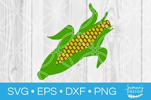 Corn SVG Cut File