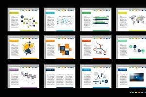 Mega set of presentation templates